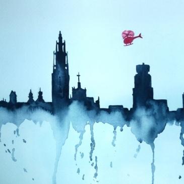 Doe het zelf: schilder de skyline
