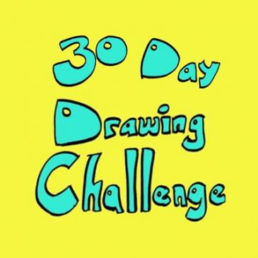 Nieuwe uitdaging: 30 day drawing challenge