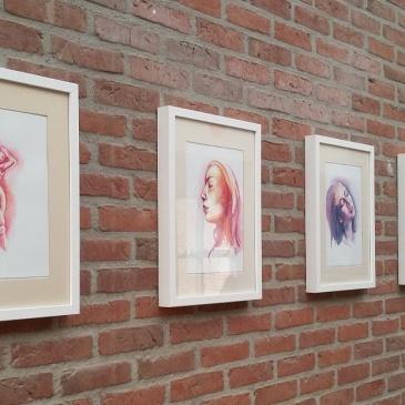 Kleurrijke expositie in WZC Molenstee