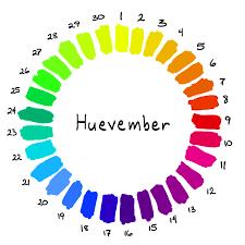 huevember color wheel